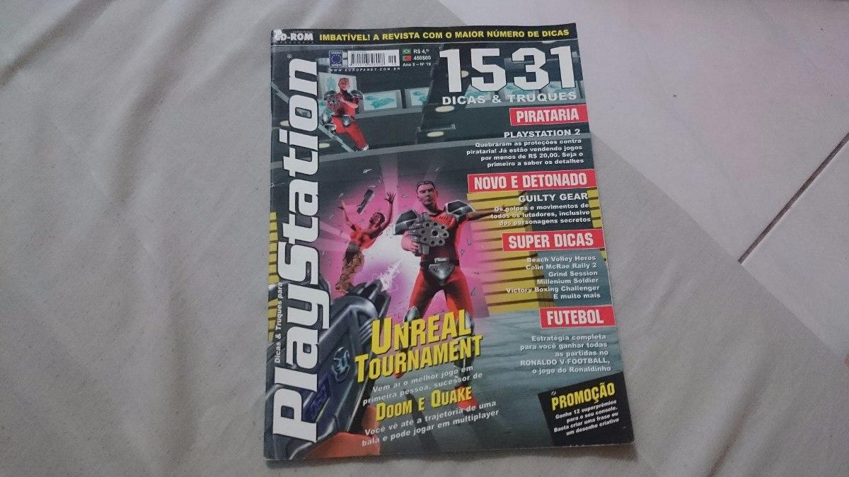 revistas dicas e truques para playstation