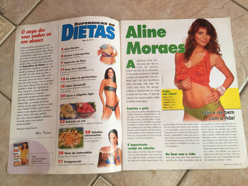 revista dietas alinne moraes helen ganzarolli n°11