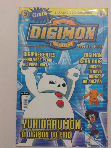 revista digimon digital monsters nº 9 revista oficial