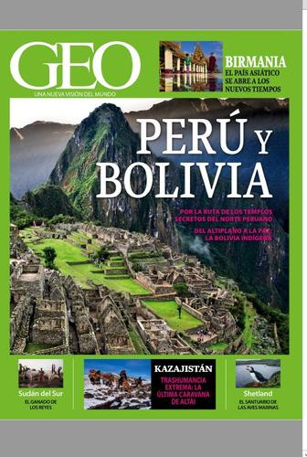 revista digital - geo - perú y bolivia