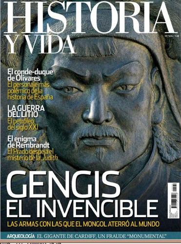 revista digital - historia y vida - gengis khan