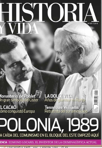 revista digital - historia y vida - polonia 1989
