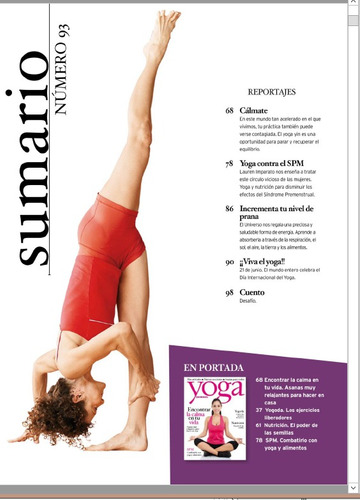revista digital - yoga journal
