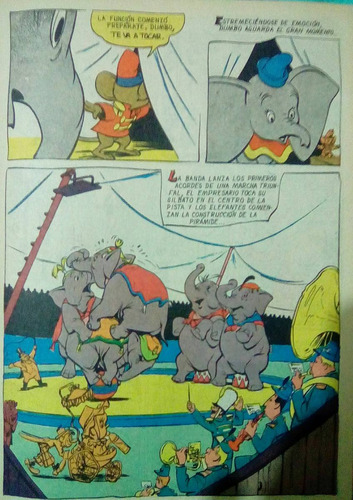 revista disneylandia 1977 clasicos walt disney dumbo