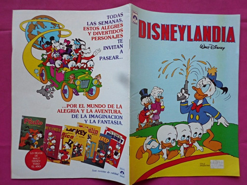revista disneylandia n° 39 editorial tucuman walt disney