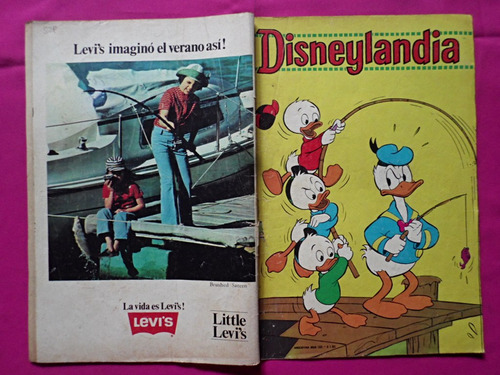 revista disneylandia n° 529 editorial tucuman walt disney