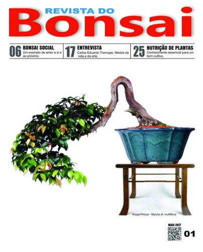 revista do bonsai 01 - frete grátis