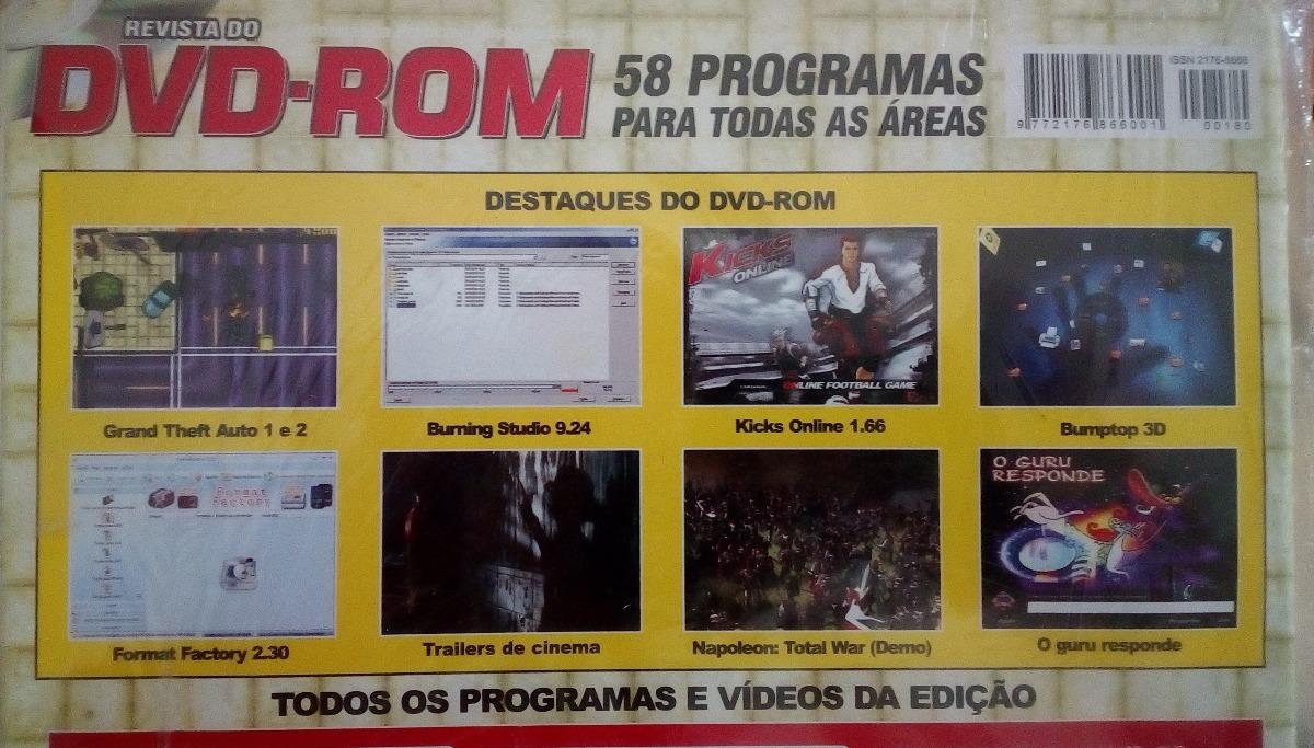 Revista Do Dvd-rom Lacrada Nº 180 Ano 16 Gta 1 E 2 Completos