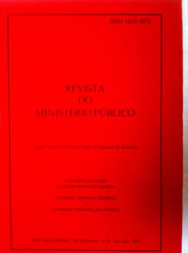 revista do ministério público n 36 stf e stj