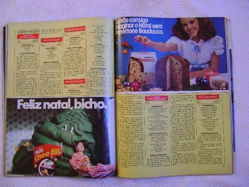 revista doçura no.18  edição especial dez 80 editora morumbi