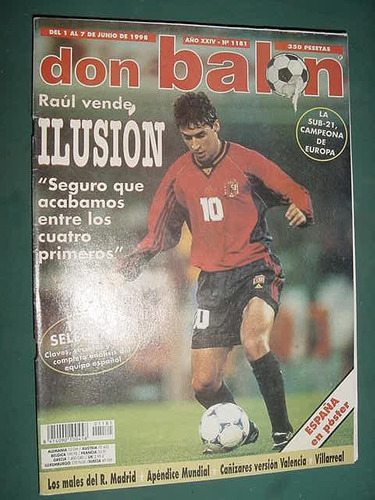 revista don balon 1181 futbol españa real madrid valencia