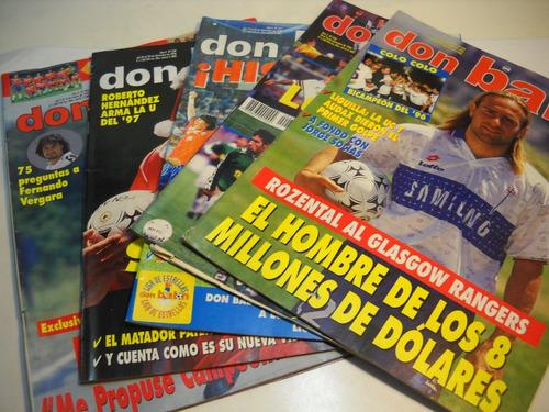 revista don balon 1996 1997