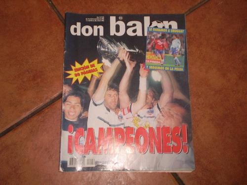 revista don balon colo colo campeon 1996 torneo nac(526