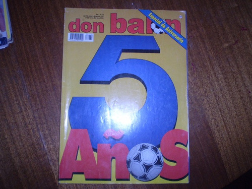 revista  don balon especial aniversario 5 años (524