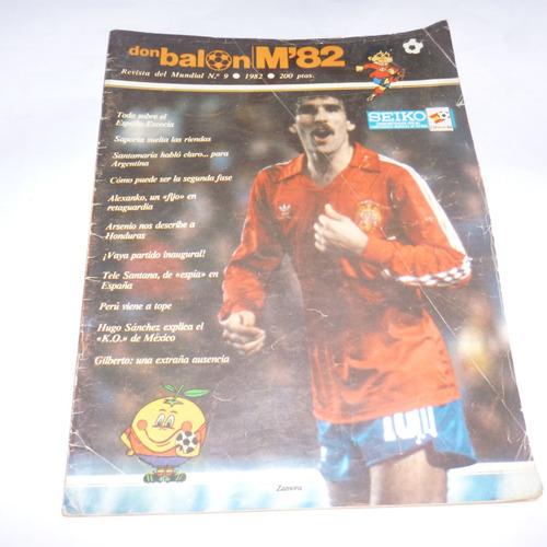 revista don balon nro 9 1982. peru viene a tope.