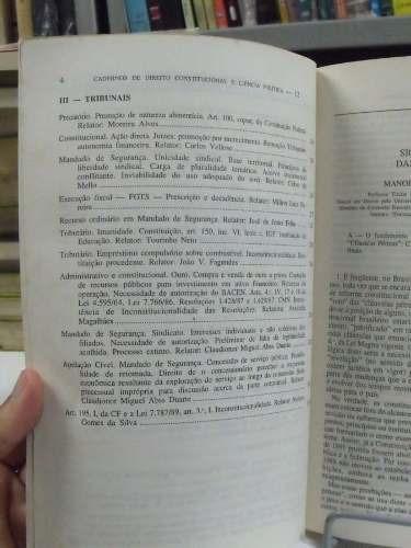 revista dos tribunais ano 3 -n.13- outubro/ dezembro de 1995