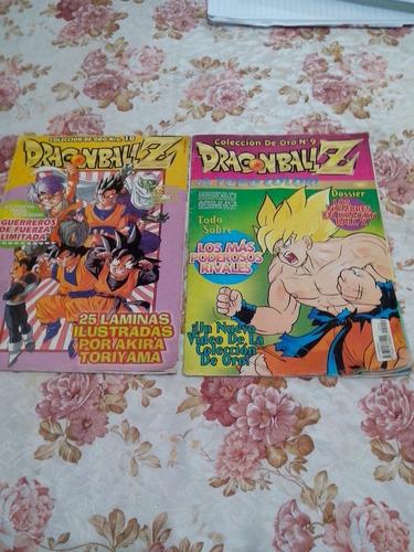 revista dragonball z. coleccion de oro n°9 y 10. año 1999