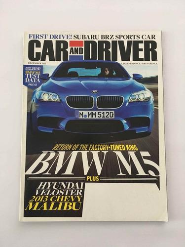 revista drive and car - dezembro 2011 bmw m5
