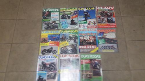 revista duas rodas nº 117 e 119 a 126 - ano 1985