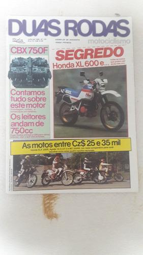 revista duas rodas nº 133 - julho/1986