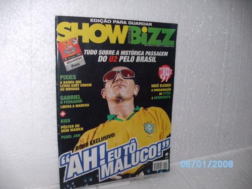 revista edição p/ guaradar show bizz ano 14 nº2 ed.151 fev