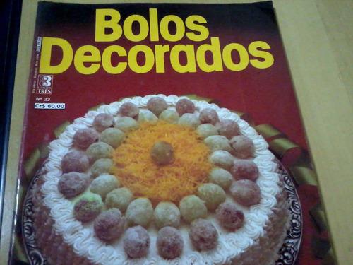 revista editora três bolos decorados nº23