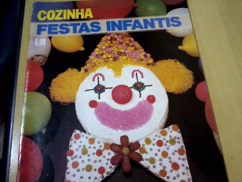revista editora três cozinha festas infantis