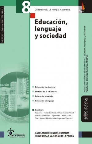revista educación, lenguaje y sociedad. vol viii, nº 8