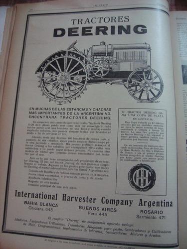 revista el campo 122 15/12/26 agricultura ganadería publicid