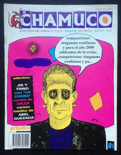 revista el chamuco #1 uno, comic 1996 rius trino fisgon
