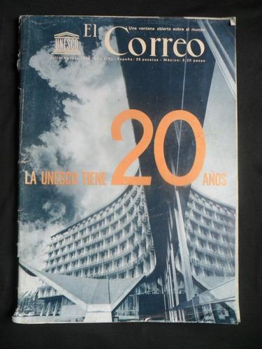 revista el correo unesco julio - agosto 1966 n° 7 - 8