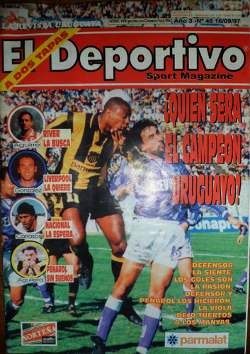 revista el deportivo año 3 no.48 16-9-97