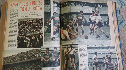 revista el gráfico - coletânea do ano de 1945.