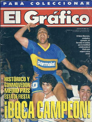 revista el grafico ed.3820 boca campeon 1992 marcico