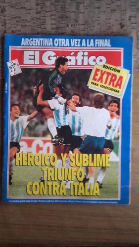 revista el grafico edicion extra mundial nº64 1990 goycochea