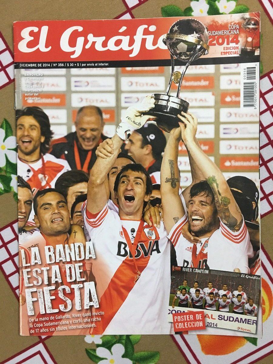 Revista El Grafico Extra Nº 356 - River Campeon Sudamericana - $ 400,00