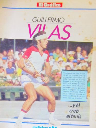 revista el grafico guillermo vilas..y el creo el tenis