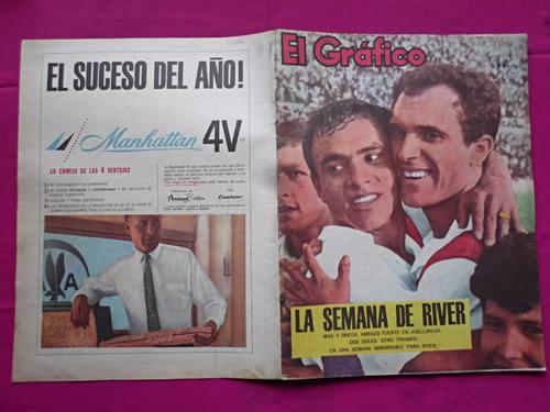 revista el grafico n° 2406 boca 5 vs lanus 0 basile river