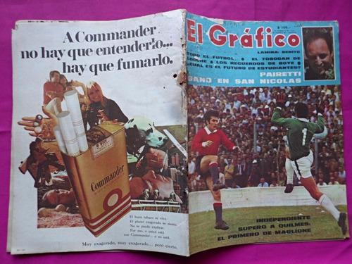 revista el grafico n° 2610 poster benito san lorenzo vs boca