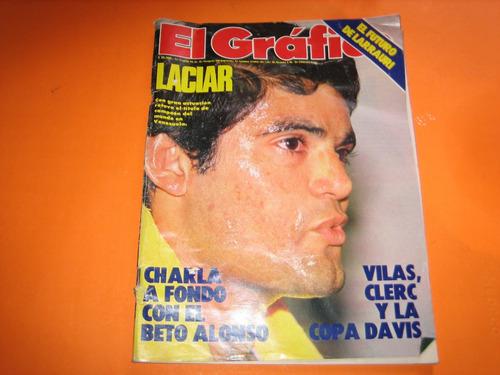 revista el grafico n* 3280 1982 vilas clerc beto alonzo rive
