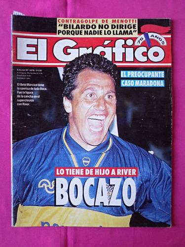 revista el grafico n° 3878, año: 1994, boca river, vilas
