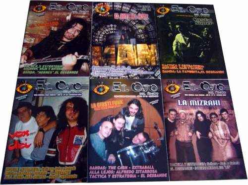revista el ojo del musico - rock argentino lote edfargz