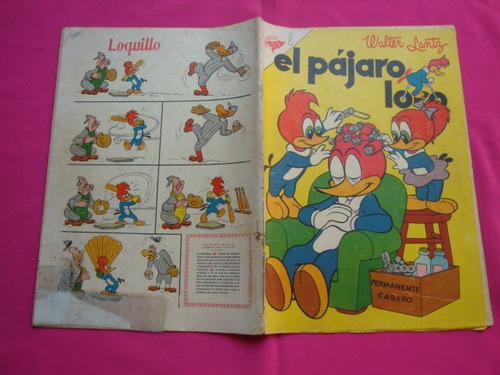 revista el pajaro loco n°107 año 1957 - editorial sea novaro