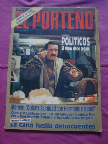 revista el porteño n° 54 junio de 1986