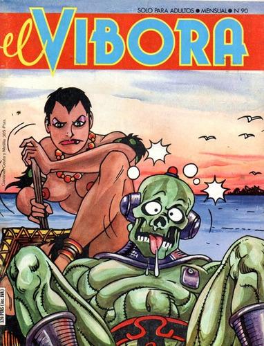 revista el vibora numero 90 comics españa - muy buen estado
