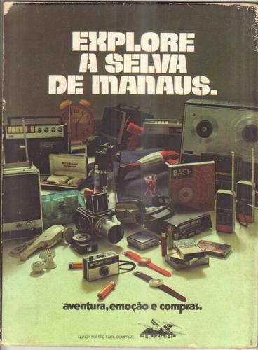 revista ele ela nº 46 fevereiro 1973 - c/ pôster beba loncar