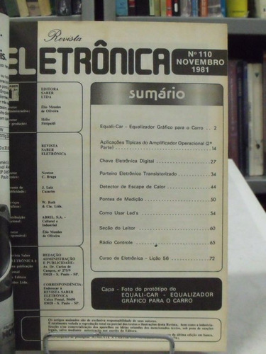 revista eletrônica nº 110