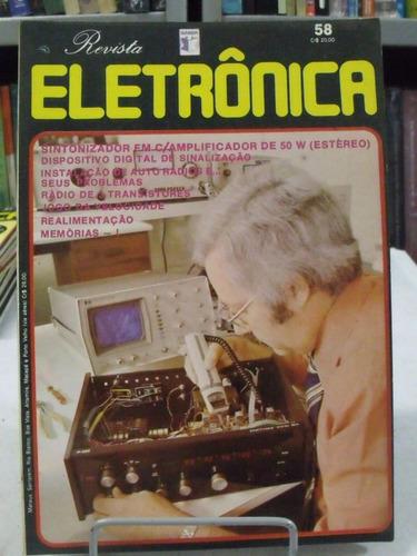 revista eletrônica nº 58