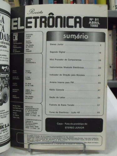 revista eletrônica nº 91
