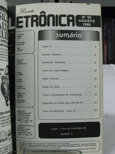 revista eletrônica nº 95